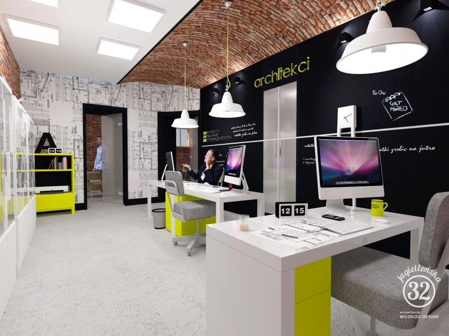 Wizualizacja biuro 2